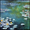 Monet: water lilies (by striped)