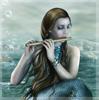 с флейтой у моря by elf_pikachu