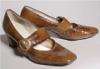 коричневые туфельки