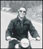 Clara's motorcycle
