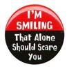 Button - Dangerous Smile