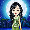 Valerie: cartoon moonlight