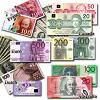 foreign currency paper money