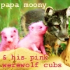 harry potter: moony and pink werewolf cu