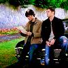 SPN: Sam/Dean in garden