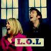 ever so plucky: DW--LOL (Ten & Rose)