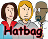 logo, Guy, Jenny, Hatbag, Seth