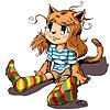 девка-кошка