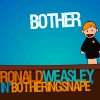 """hp: ronald weasley """"bother"""""""