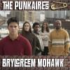 The Punkaires: Brylcreem Mohawk