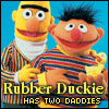 Bert and Ernie Two Daddies