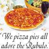 We pizza pies