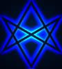 blue hexagram