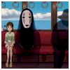 la renarde: on the train with sen and no-face