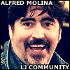 the Alfred Molina community