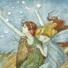 Fairy's underwater