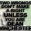 SPN - Two Wrongs