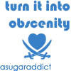 Lizz's Icons: turn it into obscenity