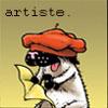 bucky is artiste.