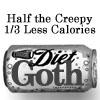 Brian: Creepy: diet goth