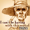 fed up, determined, Granny Weatherwax