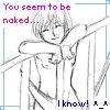 Regret: Naked Owen!  ^_____^