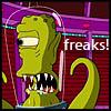 dinogrl: Simpsons freaks
