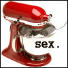 Sexy red KitchenAid