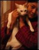 anita and cat