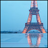 Eiffel Tower--Rain