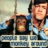 dinogrl: monkee micky monkey around