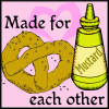 Food: Made for each other (Pretzel & Mus