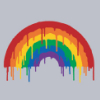Never Ending Boredom: Threadless - Dripping Rainbow