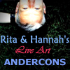 Rita and Hannahs Live Art Andercons
