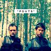 Valderys: John/Rodney - Pouts