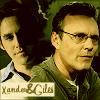 BtVS Giles/Xander -- sepia