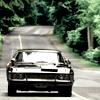Abbie Strehlow: Black devil car