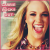 Carrie Underwood/rocks out