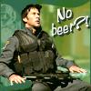 No beer!