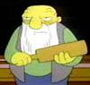 Jasper Beardley - The Simpsons