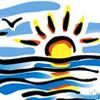 Солнце-море-облака