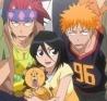 Rukia say: squee! Ichi Renji say: wtf?