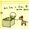 box from outerspace