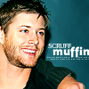 [jensen ackles] scruff muffin
