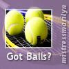 tennis - got balls: charliemc