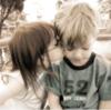 children, kiss