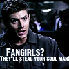 Jensen (Dean - fangirls steal your soul)