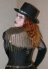 Tophat Corset redhead