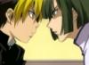 tried to eat the safe banana: HnG Akira Hikaru