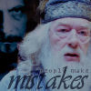 Dumbledore//mistakes